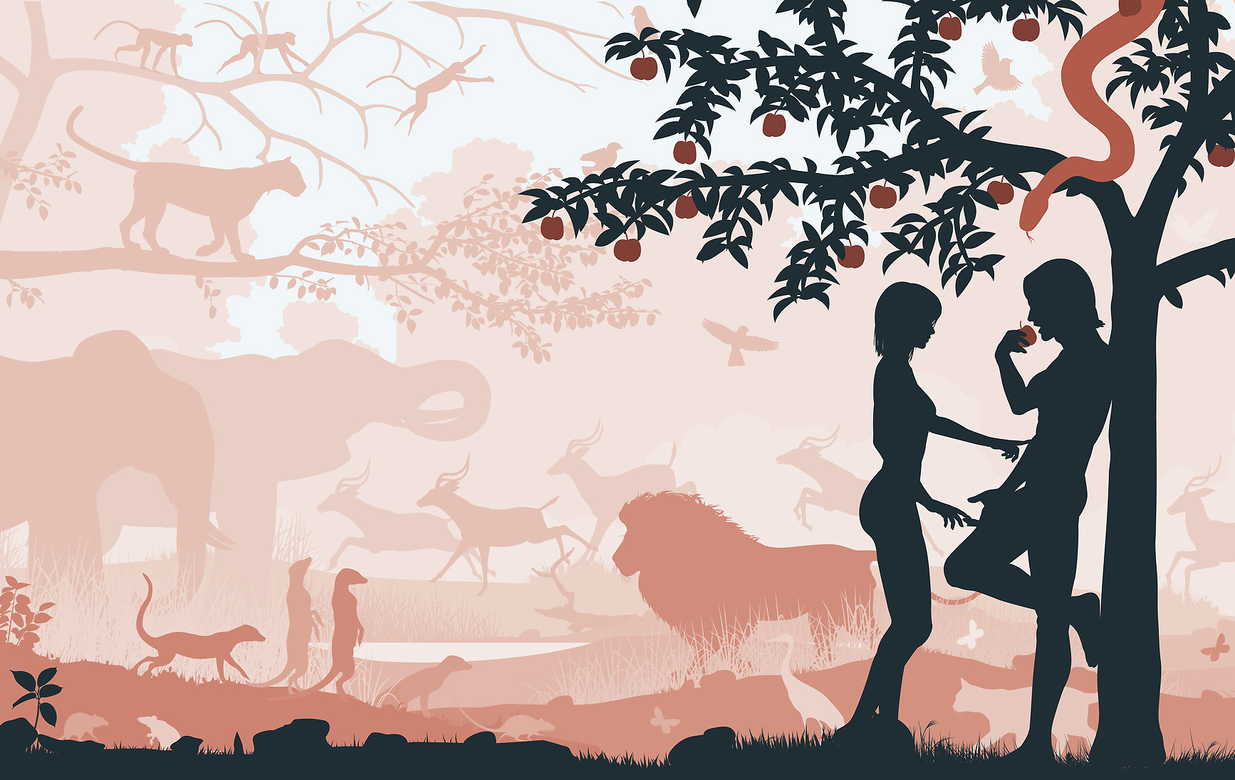 a analysis of good and evil in garden of eden 24102015 a separate peace and the garden of eden  they had to follow was one given by god which was to not eat from the tree of the knowledge of good and evil.